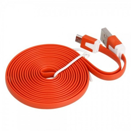 NedRo - USB Data Line, smartphones sync en oplaadkabel - USB naar Micro USB kabels - WW82013083-CB www.NedRo.nl