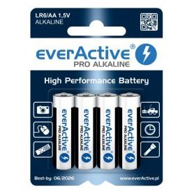 EverActive - LR6 AA everActive Pro Alkaline batteries - AA formaat - BL212 www.NedRo.nl