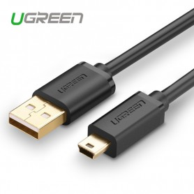 UGREEN, USB 2.0 A Male naar Mini-USB 5 Pin Male kabel, USB naar Mini USB kabels, UG116-CB, EtronixCenter.com
