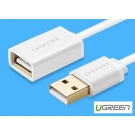 UGREEN, USB 2.0 Male to Female Extension Cable, Cabluri USB la USB, UG077-CB, EtronixCenter.com