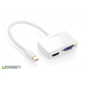 UGREEN, Mini Displayport to HDMI and VGA, HDMI adaptoare, UG016-CB, EtronixCenter.com