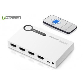 UGREEN - 3 Port HDMI Switch Switcher 1-In 3-Out Port - HDMI adapters - UG326 www.NedRo.us