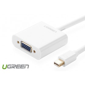 UGREEN - Mini Display Port to VGA Converter - VGA adapters - UG133 www.NedRo.us