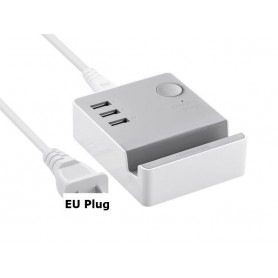 UGREEN, 3 Port USB Charging Station With Cradle IQ Tech, Ports en Hubs, UG198-CB, EtronixCenter.com