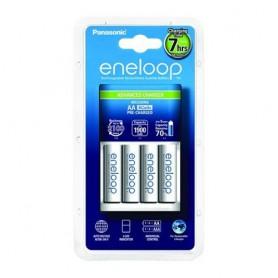 7h Panasonic eneloop Lader + 4AA batteries BQ-CC17