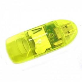 Oem - New USB 2.0 MMC SD SDHC Memory Card Reader-Writer - SD and USB Memory - AL210-CB