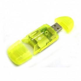 NedRo - USB Card Kaartlezer Schrijver voor MMC SD SDHC - SD en USB Memory - TM210 www.NedRo.nl