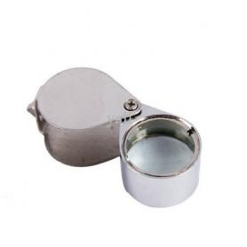 NedRo, 10x Lupă argintie mini pentru Bijuterii, Lupe și Microscoape, AL100, EtronixCenter.com