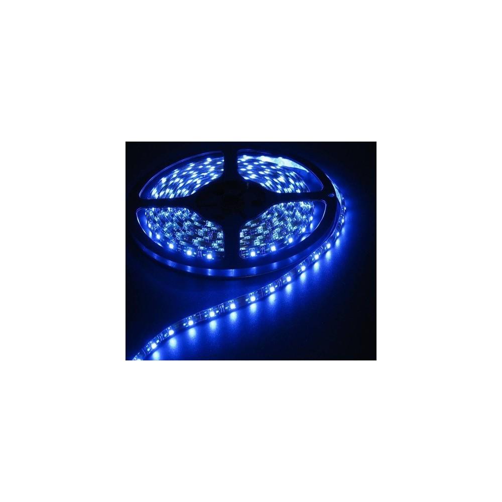 Blauw 12V LED Strip 60LED/M IP65 SMD5050