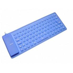 NedRo - Flexibel USB en-of PS2 toetsenbord full-size - Overige computer accessoires - YPM003-CB www.NedRo.nl
