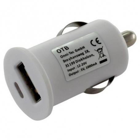 OTB - Auto Lader Adapter USB 1A - Aanstekerplugs - ON1597-CB www.NedRo.nl