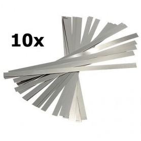 Oem - Nickel Plated Steel Battery Strap Strip - Battery accessories - AL093-CB