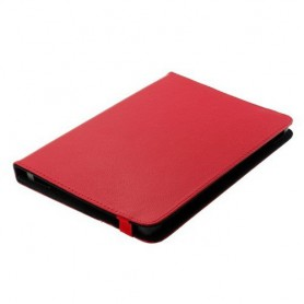 "OTB - 10""Tablet PC Kunstleer Case Bookstyl Klitteband - iPad en Tablets beschermhoezen - ON1212-C www.NedRo.nl"