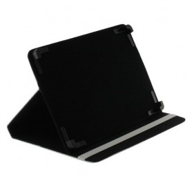 "OTB - 10""Tablet PC Kunstleer Case Bookstyl Klitteband - iPad en Tablets beschermhoezen - ON1211-CB www.NedRo.nl"