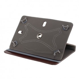 "NedRo - 10""Tablet PC Kunstleer Case Bookstyl - iPad en Tablets beschermhoezen - ON3089-C-CB www.NedRo.nl"