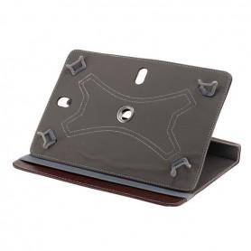 """NedRo - 10\""""Tablet PC Kunstleer Case Bookstyl - iPad en Tablets beschermhoezen - ON3157 www.NedRo.nl"""