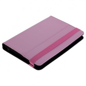 "OTB - 7"" Tablet PC Faux Leather Case Bookstyle - iPad and Tablets covers - ON1219 www.NedRo.us"