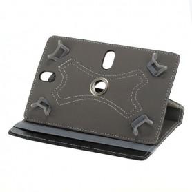 """OTB - 7\""""Tablet PC Kunstleer Case Bookstyl Klitteband - iPad en Tablets beschermhoezen - ON3162 www.NedRo.nl"""