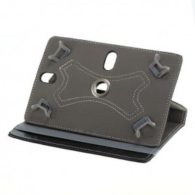 "OTB - 7""Tablet PC Kunstleer Case Bookstyl Klitteband - iPad en Tablets beschermhoezen - ON3160-CB www.NedRo.nl"