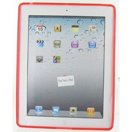 NedRo - TPU Sleeve voor iPad 2/3 - iPad en Tablets beschermhoezen - 00895-CB www.NedRo.nl