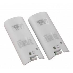 NedRo - Dual Charger Station Dock + 2 2800mAh Battery for Wii - Nintendo Wii - YGN542-CB www.NedRo.us
