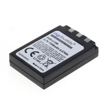 digibuddy - Batterij voor Olympus LI-10B / LI-12B 1100mAh - Olympus foto-video batterijen - ON1594 www.NedRo.nl