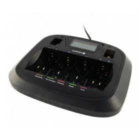 EverActive - AA AAA C D 9V încărcător profesional 8 canale - Încărcătoare de baterii - BL218 www.NedRo.ro