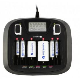 EverActive - AA AAA C D 9V Professional 8 kanaals lader - Batterijladers - BL218 www.NedRo.nl