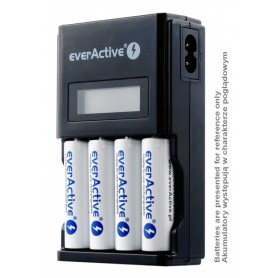 EverActive - AA AAA everActive NC-450 4 kanaals lader - Batterijladers - BL219 www.NedRo.nl