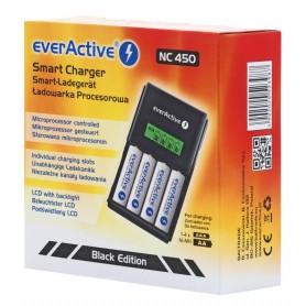 EverActive, AA AAA everActive NC-450 încărcător 4 canale, Încărcătoare de baterii, BL219, EtronixCenter.com