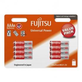 8-Pack Fujitsu Universal Power LR03 AAA