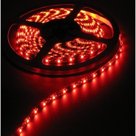 NedRo - Rood IP65 12V Led Strip 60LED/M IP65 SMD5050 - LED Strips - AL200-1-CB www.NedRo.nl