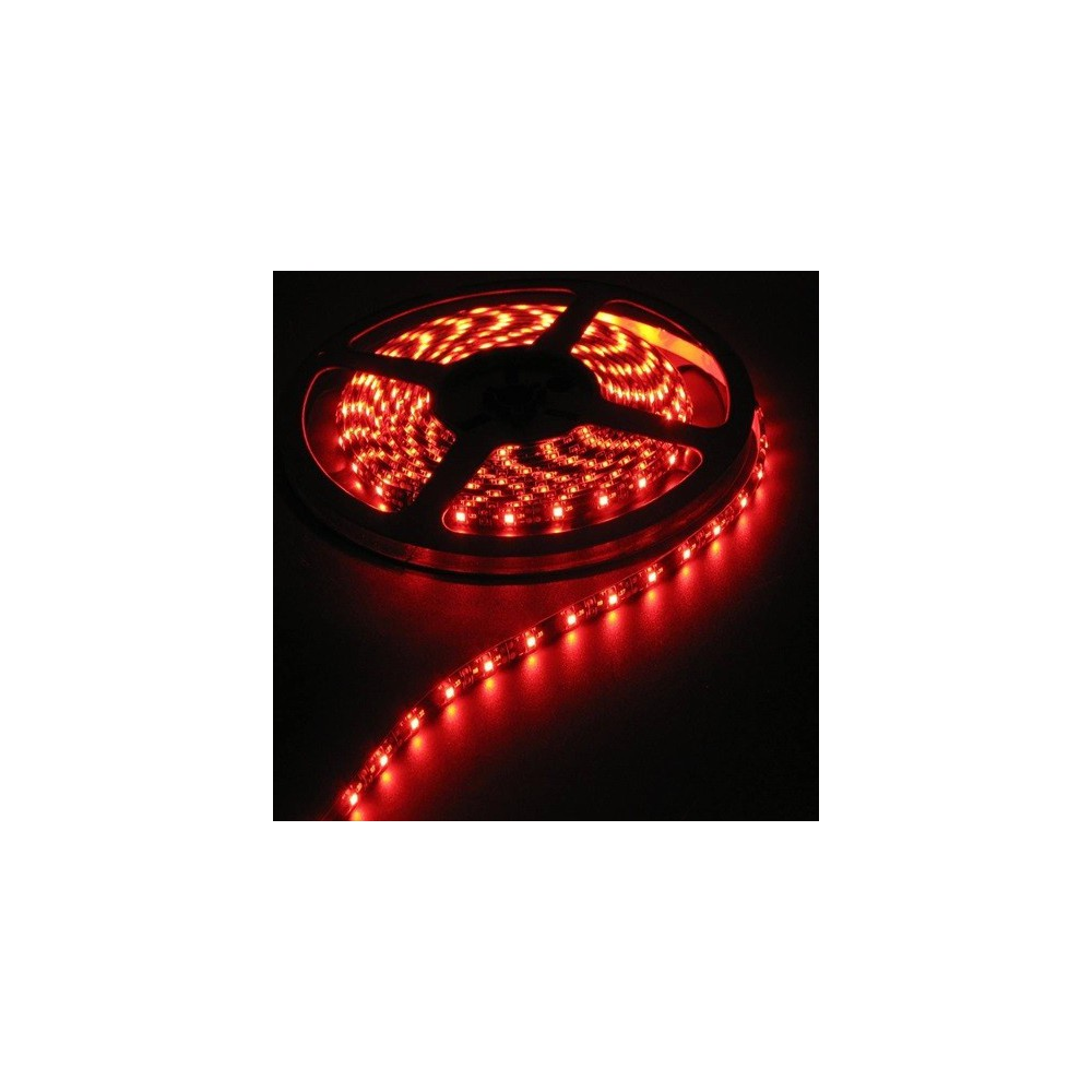 Unbranded - 1M Red 12V Led Strip 60LED/M IP65 White PCB SMD5050 AL200-1 - LED Strips - AL200-1 www.NedRo.de