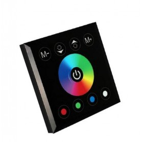 NedRo - RGBW LED 12V-24V Wall Touch Controller - LED Accessories - AL988-CB www.NedRo.us