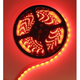 Red 12V LED Strip 60LED IP65 SMD3528