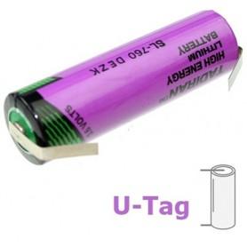 Tadiran - Tadiran SL-760 / 1/2 AA lithium battery 3.6V - Size AA - NK181-U-Tag-1x www.NedRo.us