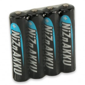 Ansmann - AAA 1.6V NiZn Ansmann Oplaadbaar Batterijen 550mAh - AAA formaat - NK186-CB www.NedRo.nl