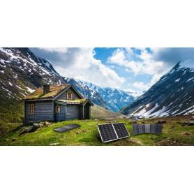 PowerOak - S80 PowerOak Panou Solar Portabil 80W/18V - Panouri solare și turbine eoliene - S80 www.NedRo.ro