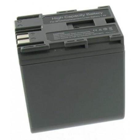 NedRo - Accu Batterij compatible met Canon BP-535 BP535 - Canon foto-video batterijen - V004-N www.NedRo.nl