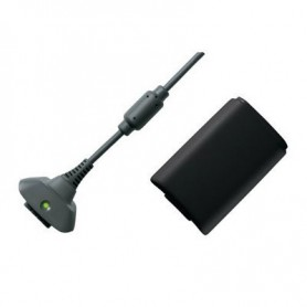 NedRo - Play & Charger USB Cable + Battery for XBOX 360 - Xbox 360 cables & batteries - YGX520-1 www.NedRo.us
