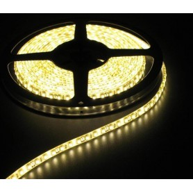 NedRo - IP65 SMD3528 12V LED Strip 60LED Alb Cald - Benzi cu LED-uri - AL282-1M www.NedRo.ro