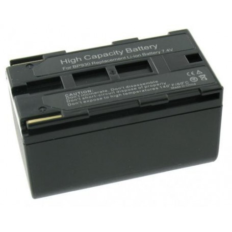Oem - Battery compatible with Canon BP-930 - Canon photo-video batteries - GX-V151