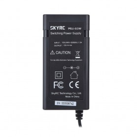 SkyRC - Power Supply Adapter for SKYRC IMAX B6 mini 15V 4A 60W - Battery chargers - NK187-C www.NedRo.us