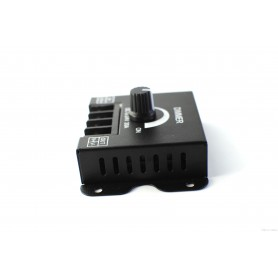 NedRo - Comutator dimmer 12-24V pentru LED-uri de o singura culoare 30A - LED Accessorii - LCR67 www.NedRo.ro