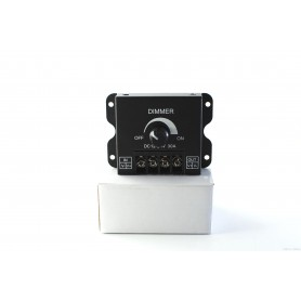 NedRo, 12-24V 30A Single Color LED Dimmer Switch, LED Accessories, LCR67, EtronixCenter.com