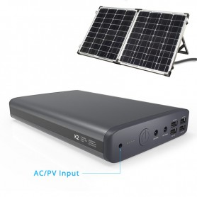 PowerOak - PowerOak K2 Solar PowerBank 185Wh 50000mAh - Powerbanks - OAKK2-S www.NedRo.us