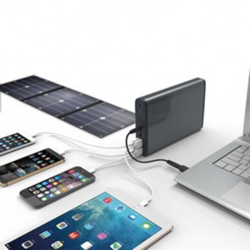 PowerOak, PowerOak K2 Solar PowerBank 185Wh 50000mAh Stroomvoorziening, Powerbanks, OAKK2-S, EtronixCenter.com