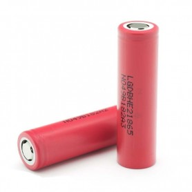 LG - LG IMR18650-HE2 18650 Rechargeable battery - Size 18650 - NK077 www.NedRo.us