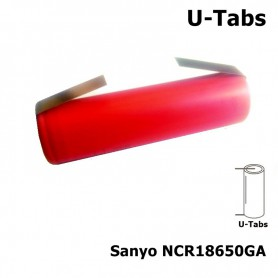 Sanyo, Sanyo NCR18650GA 18650 3350mAh 10A 3.6V Li-ion, Size 18650, NK051-CB, EtronixCenter.com