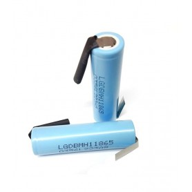 LG - LG INR18650MH1 3200mAh 10A 3.6V oplaadbaar Lithium batterij - 18650 formaat - NK075-CB www.NedRo.nl